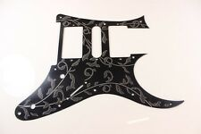 Black Tree of Life Anodized Aluminum pickguard fits Ibanez (tm) RG550 Jem RG HSH
