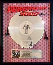 "POWERMAN 5000 ""TONIGHT THE STARS REVOLT"" RIAA RECORD AWARD PLATINUM CUSTOM"