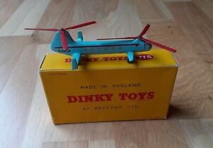 Dinky Airplane Bristol 173 Helicopter #715 Mint in Original Box