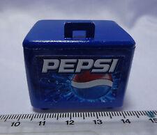 1:12 Scale Pepsi Cooler Box  6 Pepsi Bottles