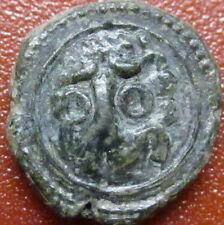 Italy  Follaro Wilhelm Crusader coin 1166-1189. LEO (VB2)
