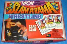 WCW Slam-A-Rama Wrestling Card Game COMPLETE - World Championship Wrestling