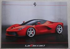 Ferrari LaFerrari Presentation Card Karte 2013 no brochure prospekt book press