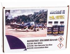 Alclad II USN Segunda Guerra Mundial conjunto de conjunto de aviones (3 X 30 Ml)
