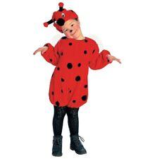 Coccinella Faschingsköstüm Costume per Bambini Bambina, Taglia 116 cm, 4-5 Anni