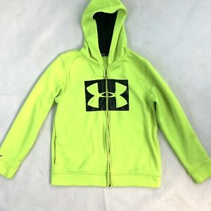 Under Armour Storm Zip Up Hoodie Size L Youth