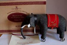 Steiff Club Edition Filzelefant auf Räder 1914, 22 cm limitiert 1997/98  Elefant