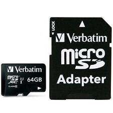 Verbatim Memoria Micro SDXC 64 Gb con Adattatore - Classe 10