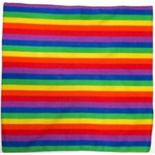 Rainbow Multicolour Bandana Bandana Headwear/Hair Band Scarf Neck Wrist HeadtiB2