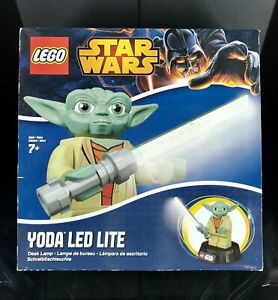 Star Wars Lego Yoda LED Lite Desk Lamp 2014