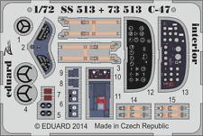 Eduard PE 73513 1/72 Douglas C-47 Standing interior detalles Airfix!