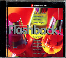 FLASHBACK 18 CLASSIC DISCO HITS - CD COMPILATION  [798]