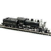 MODEL POWER 87602 N SCALE B&O Steam 2-6-0 Mogul NEW