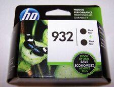 HP 932 L0S27AN Black Ink Cartridges 2 Pack NIB OEM US Seller 17+ Years on Ebay