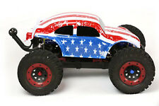 Custom Buggy Body American Flag for 1/8 RC Truck Thunder Tiger MT4 G3 HPI Savage