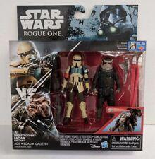 "Star Wars Rogue One Shoretrooper Captain & Bistan 3.75"" Action Figure Set - MIB"