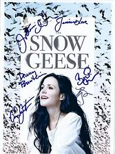 Mary Louise Parker, Victoria Clark, Danny Burstein & Cast Signed Snow Geese