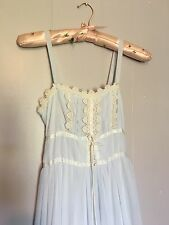 Gunne Sax XS Pale Blue Festival Prom Wedding Dress Size 0/1