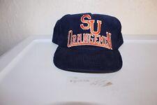 Vintage Syracuse Orangemen Snapback Hat Corduroy Snapback Starter College Cuse