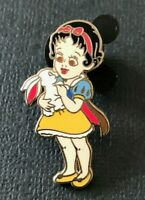 👑 Exclusive Disney Baby Toddler Princess Snow White with Bunny Trading Pin 2007