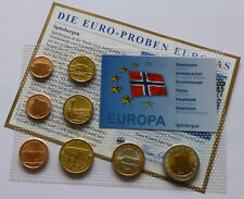 Svalbard / Spitzbergen Euro Pattern Set 2012, Essai-Probe-Prototype-Specimen