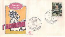 FDC ITALIA PRIMO GIORNO DI EMISSIONE 1987 LOTTA  CONTRO L'ALCOLISMO TORINO 7-15