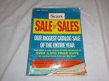 Vtg 1969 Sears Roebuck & Company Winter Sale Catalog Fashions Linens Lighting