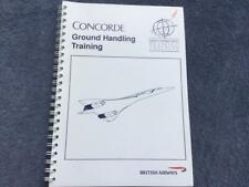 British Airways Concorde Ground Handling Training Handbook 1989 Rare