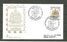 FDC SMOM  Posta Aerea Errore Repubblica del Canada 1993