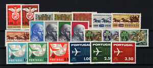 1963 Portugal Complete Year MNH Stamps.