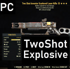 [PC] LEGACY Two Shot Explosive Laser Rifle 90% Reduced Weight TSE90 Fallout 76