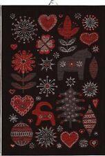 Ekelund Scandinavian Julnatt Kitchen Towel, NEW