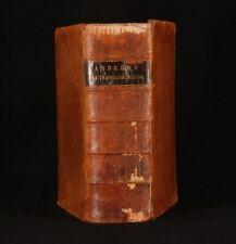1868 LATIN - ENGLISH LEXICON E. A. Andrews
