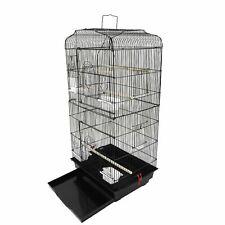 "37"" Bird Parrot Cage Canary Parakeet Cockatiel LoveBird Finch Bird Cage with Woo"
