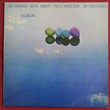JAN GARBAREK  KEITH JARRETT   LP  ORIG FR ECM  BELONGING