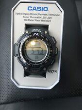 Casio SGW1000-1A Triple Sensor Mens Watch Altimeter Compass Barometer 100M NEW