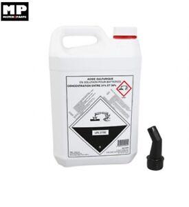 Bidon de 5 Litre (5L) Acide de batterie
