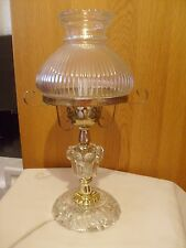 GORGEOUS  VINTAGE 1960s  - 1970s GLASS & RESIN  LAMP & GLASS SHADE