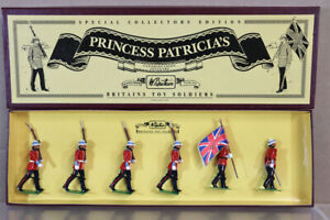 BRITAINS 8856 PRINCESS PATRICIA'S CANADIAN LIGHT INFANTRY MINT BOXED nv
