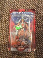MOTU SAMURAI  HE-MAN Masters of Universe  He Man Figure 2002