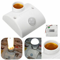 80W E27 Automatic Infrared Motion PIR Sensor Switch LED Light Lamp Holder Switch