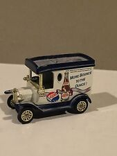 Vintage Diecast Pepsi Model A Delivery Truck More Bounce To The Ounce