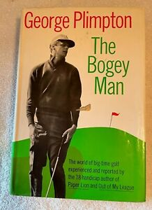 Vintage Golf Book The Bogey Man By George Plimpton 1968 Great Condition