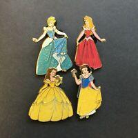 DLRP Paris - Sparkle Princesses Booster Set - 4 Pins Disney Pin 70411