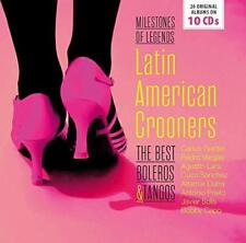 Latin American Crooners The Best Boleros and Tango CD