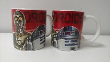 2 Mugs Star Wars Android Disney
