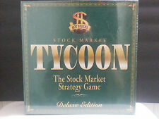 NEW Sealed Stock Market Tycoon Financial Strategy Game Deluxe Edition 2-8 Player