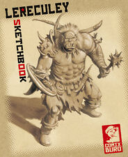 LERECULEY SKETCHBOOK 1 (GOLIAS/WOLLODRIN/CAIRN) signed+limited 900 Ex COMIX BURO