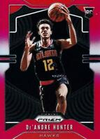 NBA Card 2019-20 De'Andre Hunter Panini Prizm Atlanta Hawks Base Red /299 RC