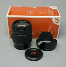 Sony DT 18-250mm F3.5-6.3 Lens for Alpha A Mount (SAL18250) APS-C Format